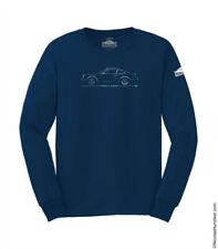 4ea240f026fe8 Porsche 73RS LONG SLEEVE tee-shirt by Nicolas Hunziker– Navy blue - LARGE
