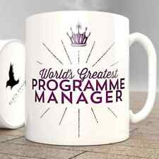 World's Greatest programma Manager-Tazza