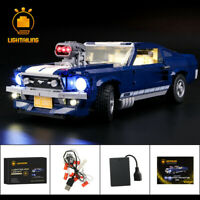 LED Light Up Kit For LEGO 10265 Ford Mustang Lighting building blocks Set 10265