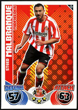 Steed Malbranque #263 Sunderland Topps Match Attax 2010-11 Football Card (C602)