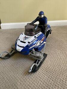 Interactive Toys RC Polaris XD Liberty 700 VES Blue Snowmobile