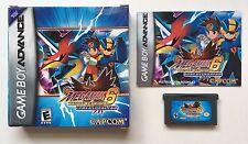Nintendo Game Boy Advance GBA Mega Man Battle Network 6: Cybeast Falzar CIB