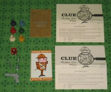 1950 Parker Brothers Clue Game Part Board Game Replacement Parts