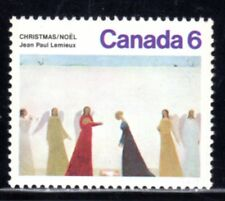 1974 Canada SC# 650-Christmas - red color shift on blue skirt Lot# 741a - M-NH