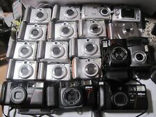 "Lot of 19 MIxed Brand Cameras FOR ***PARTS*** ""AS IS"""