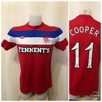 Glasgow Rangers 2011/2012 Away Size S umbro shirt jersey soccer maillot football