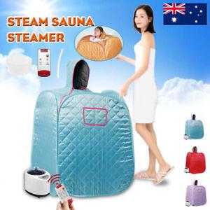 Portable Steam Sauna Tent Indoor Slim Skin Spa Home Salon Steamer Loss Weight AU