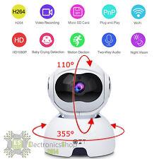 Telecamera di Sorveglianza wireless WiFi Infrarossi FullHD BABY MONITOR ip 1080p