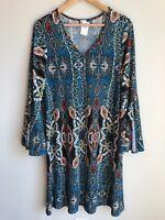 NWT R Rouge Western Style Dress Size XL