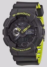 CRAZY DEAL  G-SHOCK GA110LN-8A GRAY/NEON GREEN LAYERED ANA-DIGI SPECIAL EDITION