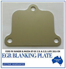 Ford PX Ranger / Mazda BT50 EGR Cooler Blanking Plate - The other one you need!