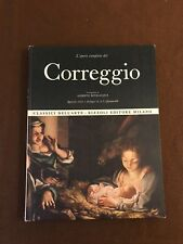 L'OPERA COMPLETA DI CORREGGIO - CLASSICI DELL'ARTE RIZZOLI 1970 - BEVILACQUA