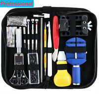 147 PCS Watch Repair Kit Professional Spring Pin Bar Tool Set With Carrying Case