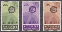 Cyprus 1967 #297-99 Europa Issue (Set of 3) - MNH