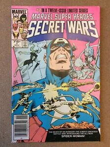 Marvel Comics Secret Wars #7 Higher Mid Grade 🔥 Mark Jewelers Insert Newsstand