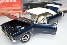 Highway 61 1:18 Scale 1968 DODGE DART GTS (DARK BLUE/CREME TOP) - SKU #50427