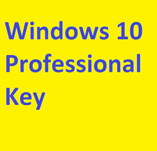 Win ­ Dows 10 pro Professional 32 & 64 bit product key clave del producto