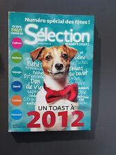 "Selection Reader's Digest Magazinel Decembre 2012 Francais Neuf ""Un Toast a 2012"