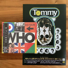 4 JAPAN ONLY BONUS TRACKS! SHM-CD WITH OBI+INSERT + 5 TOMMY FLYERS! THE WHO 2019
