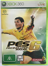 PES PRO EVOLUTION SOCCER 6 XBOX 360 GAME