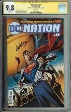DC Nation #0 SS CGC 9.8 Variant Cover Auto Jose Luis Garcia-Lopez