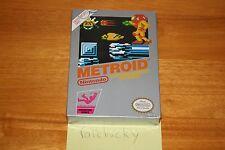 Metroid (Nintendo NES) NEW SEALED H-SEAM EXCELLENT, RARE ORIG SILVER BOX RELEASE