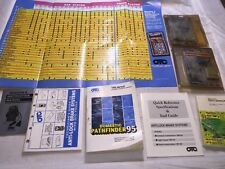 Various OTC Books, Guides, And Cartridges Domestic Pathfinder95 TSB Monitor 2000