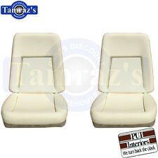 1969 Camaro Deluxe Front Bucket Seat Buns / Foam Cusions Pair PUI