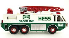 HESS Gasoline Toy Emergency Truck 1996 Siren Search Light Flashers 12 inches