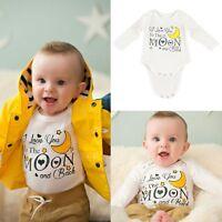 Cotton Newborn Baby Boy Girl Clothes Bodysuit Romper Jumpsuit Bodysuit Outfits