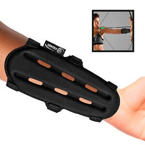 Archery Armguard Protector Arm Guard - Adjustable Forearm Wrist Protector