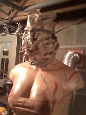 SILENT HILL NURSE FEMALE ZOMBIE PROP LIFESIZE  TORSO HALLOWEEN PROP