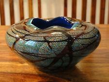 Teelicht Halter Windlicht Vase Kristall Glas Luxus Stil Murano Schale Handarbeit