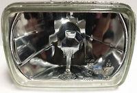 Crystal Clear Lens H4 Head Light 6 x 8 Semi Sealed Beam Universal 5x7 Mini Truck