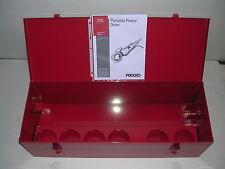 Metal Case Amp Manual Ridgid 700 Power Pony Pipe Threader Six 12r Die Heads 12 2