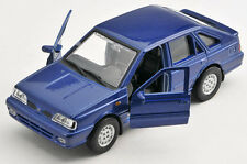 BLITZ VERSAND Polonez Caro Plus dunkelblau Welly Modell Auto 1:34 NEU & OVP
