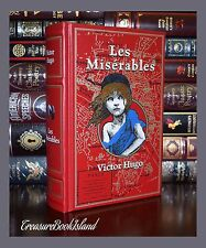 Les Miserables by Victor Hugo Brand New Leather Bound Collectible 2 Day Ship