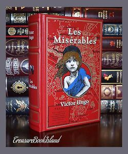 Les Miserables by Victor Hugo Brand New Leather Bound Collectible