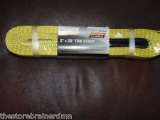 """2"""" X 20'FT TOW Strap-10,000 LB Capacity Tow Rope Towing Pulling Truck ATV(m-570)"""