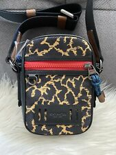 Authentic Coach Terrain Crossbody with Wavy Animal Print 89901 NWT $250