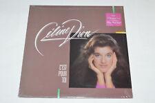 CELINE DION C'est Pour Toi LP 1985 NEW SEALED TBS-503 Pop Chanson Canada Vintage