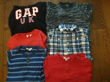 Bundle Of Boys Clothes - Tops- Age 4-5 Years - Gap, Mark&Spencer & Pumpkin Patch