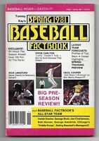 Spring 1981 Tommy Kay's Big Book of Baseball Paperback Book