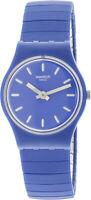 Swatch Women's Flexiblu LN155A Blue Silicone Swiss Parts Quartz Fashion Watch