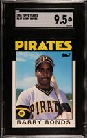 1986 Topps Traded BARRY BONDS Rookie Baseball Card #11T RC SGC 9.5 MT