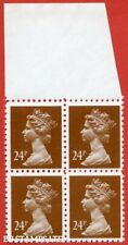 1993 ( SG. X969 ). 24p chestnut FORGERY. A superb UNMOUNTED MINT top margi B8905