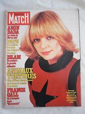 PARIS MATCH N° 1561 du 27 avril 1979 FRANCE GALL MICHEL BERGER ROLLING STONES