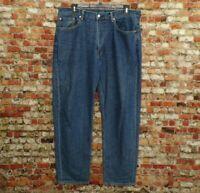 Levis Mens 550 Straight Leg Medium Wash Blue Jeans 5 Pocket Measure 38x32