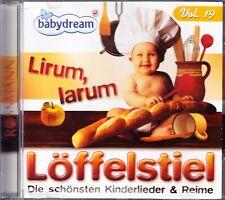 CD Babydream Vol. 19 - Lirum, Larum Löffelstiel - Die schönsten Kinderlieder