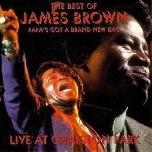JAMES BROWN Papa's Got A Brand New Bag Live At Chaiston Park CD Album R&B & Soul